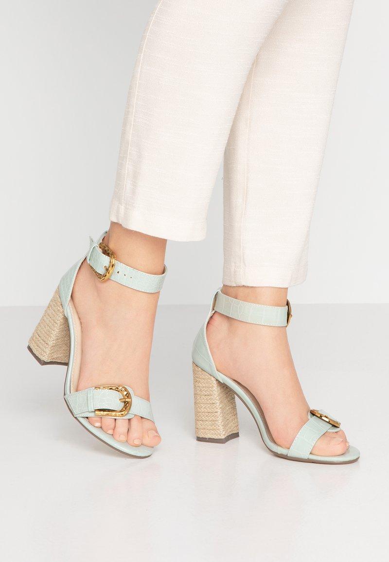4th & Reckless - MORGAN - Sandály na vysokém podpatku - mint