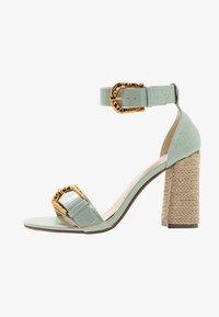 4th & Reckless - MORGAN - Sandály na vysokém podpatku - mint - 1