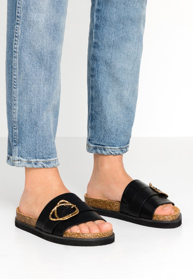 NELLY - Mules - black