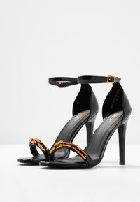 4th & Reckless - ROWLAND - High heeled sandals - black - 4