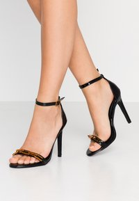 4th & Reckless - ROWLAND - High heeled sandals - black - 0
