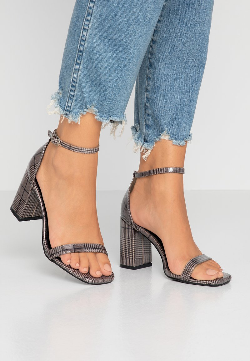 4th & Reckless - WALSH - High Heel Sandalette - grey