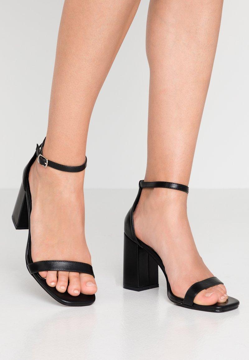 4th & Reckless - WALSH - Højhælede sandaletter / Højhælede sandaler - black