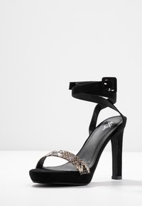 4th & Reckless - BUXTON - High Heel Sandalette - black - 4