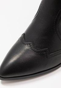 4th & Reckless - LARSEN - Cowboy/Biker boots - black - 2