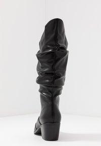 4th & Reckless - LARSEN - Cowboy/Biker boots - black - 5