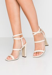 4th & Reckless - CALI - High heeled sandals - cream - 0