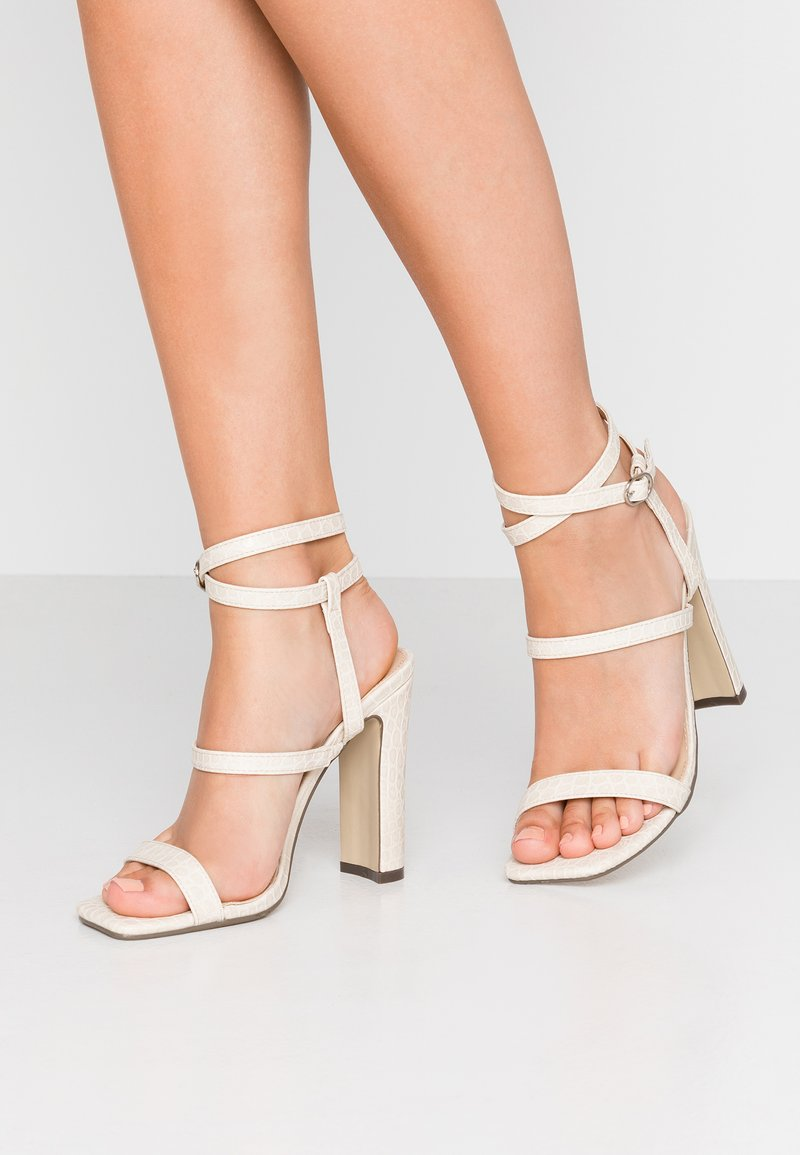 4th & Reckless - CALI - High heeled sandals - cream