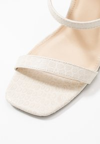 4th & Reckless - CALI - High heeled sandals - cream - 2