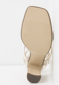 4th & Reckless - CALI - High heeled sandals - cream - 6