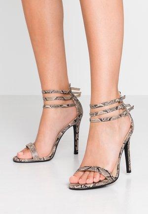DEXTER - High heeled sandals - grey
