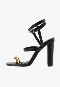 4th & Reckless - CITY - Sandaler med høye hæler - black - 1