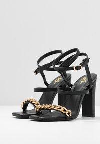 4th & Reckless - CITY - Sandaler med høye hæler - black - 4