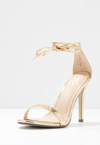 4th & Reckless - CLEO - High heeled sandals - gold - 4