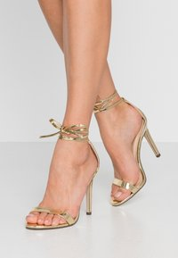 4th & Reckless - CLEO - High heeled sandals - gold - 0