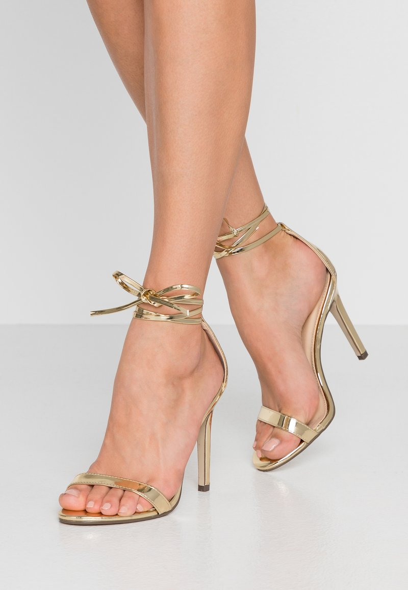 4th & Reckless - CLEO - High heeled sandals - gold