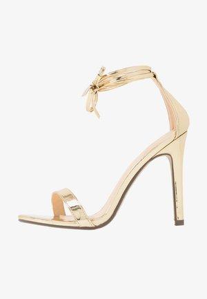 CLEO - Højhælede sandaletter / Højhælede sandaler - gold