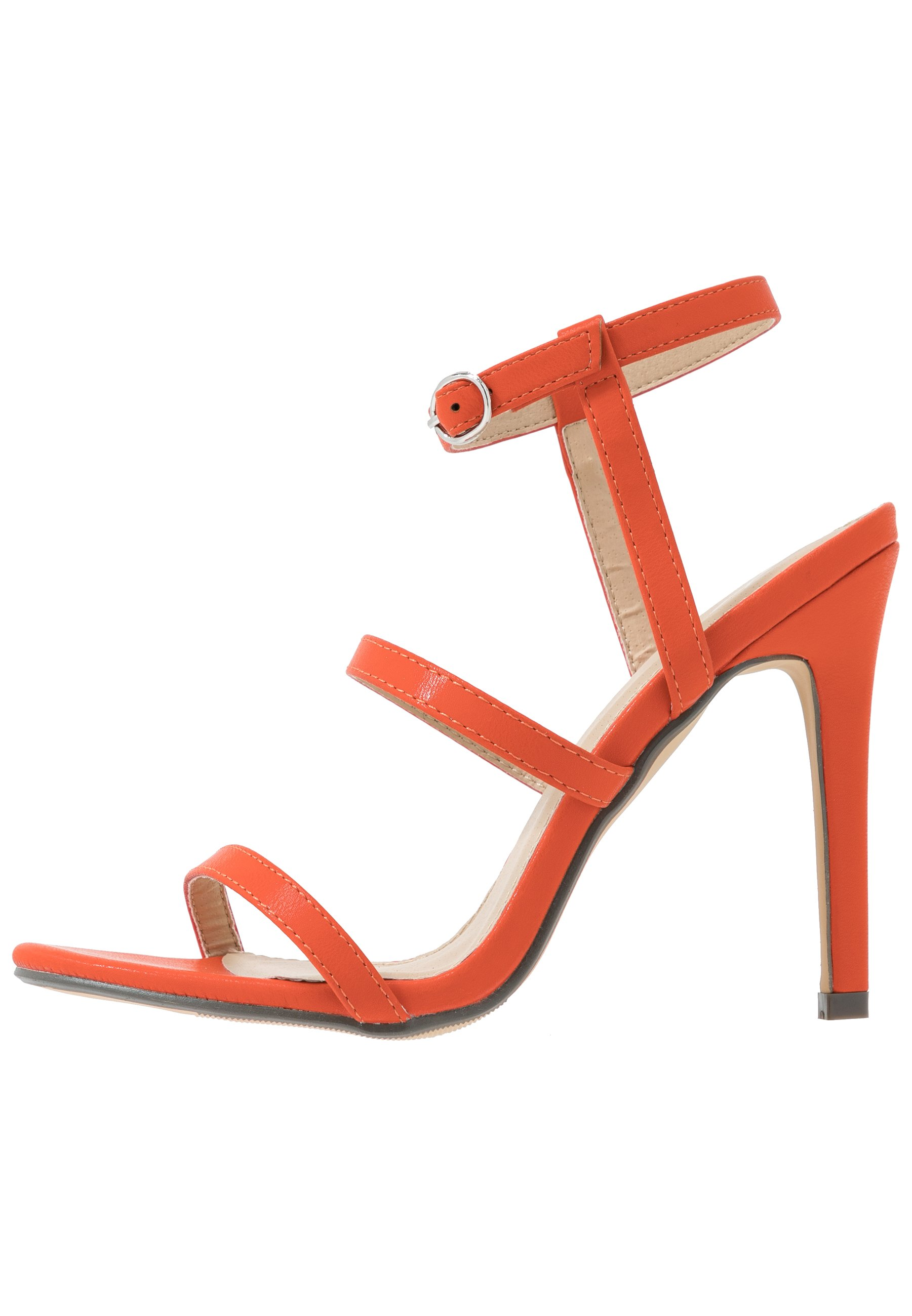 4th & Reckless JULES - Sandales à talons hauts - orange