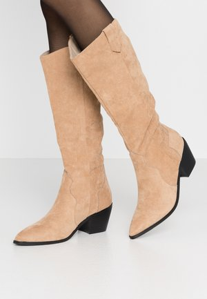 RAFFERTY - Stivali texani / biker - camel