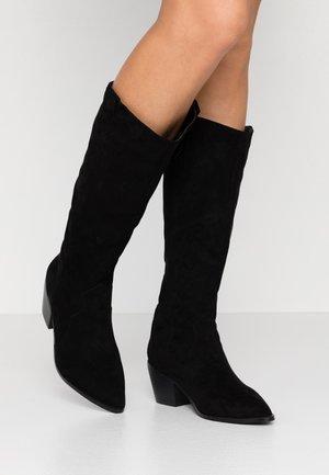 RAFFERTY - Kovbojské/motorkářské boty - black