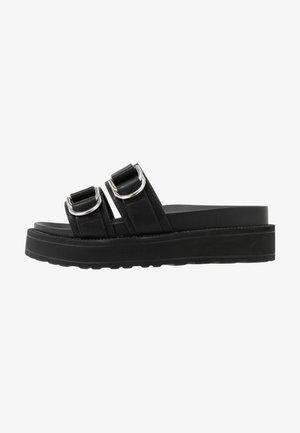 NOLA - Pantofle - black