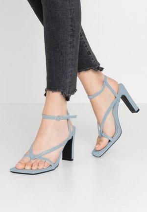 MURPHY - High heeled sandals - baby blue
