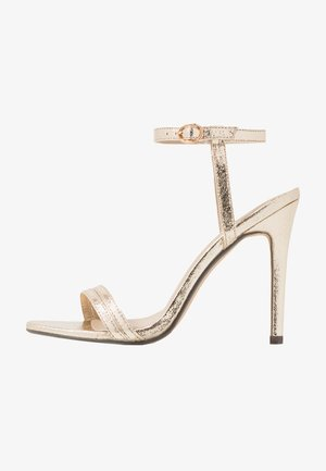 RYLEY - High heeled sandals - gold