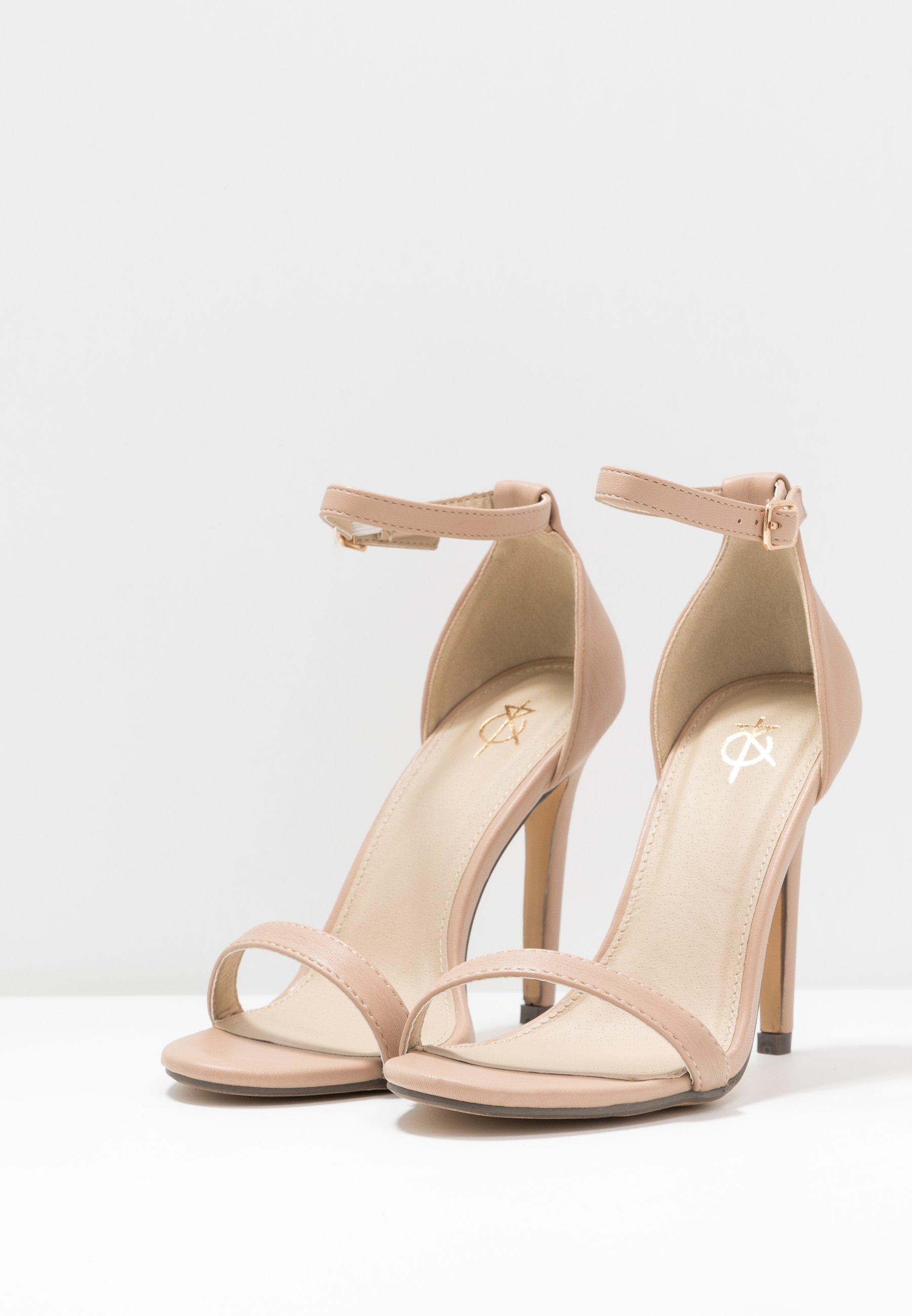 4th & Reckless JASMINE - High Heel Sandalette - nude L1JmG3