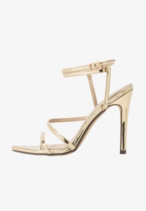 AIMEE - High heeled sandals - gold