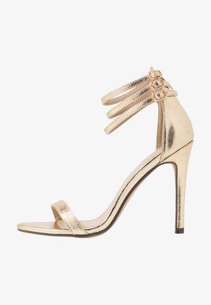 DEXTER - High Heel Sandalette - gold