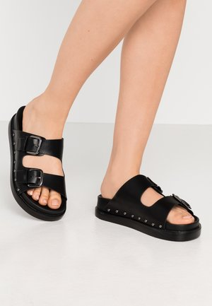 PALMA - Pantofle - black