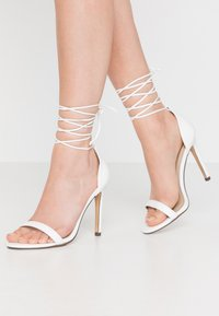 4th & Reckless - RACHEL - High heeled sandals - white - 0