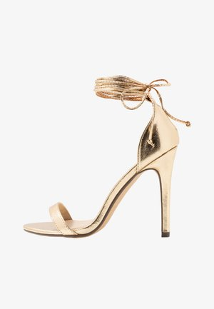 RACHEL - High heeled sandals - gold