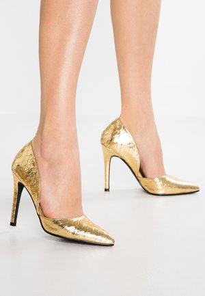 MARS - Høye hæler - gold