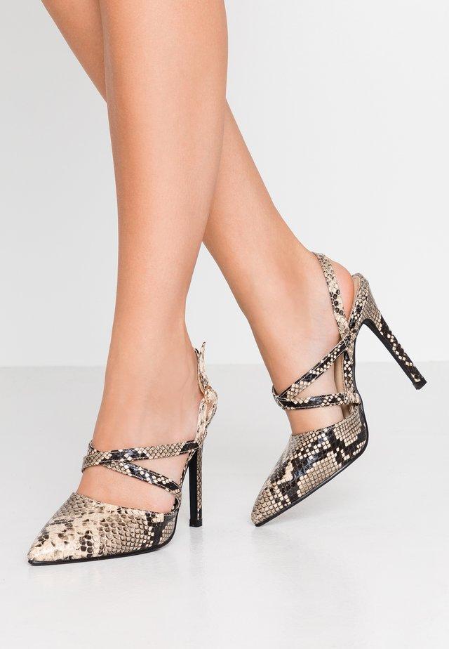 MELLOW - High heels - grey