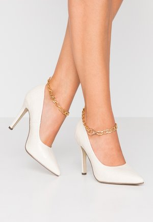 BAXTER - High Heel Pumps - cream