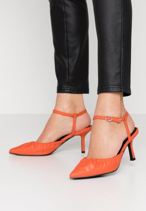 BLAIR - Classic heels - orange