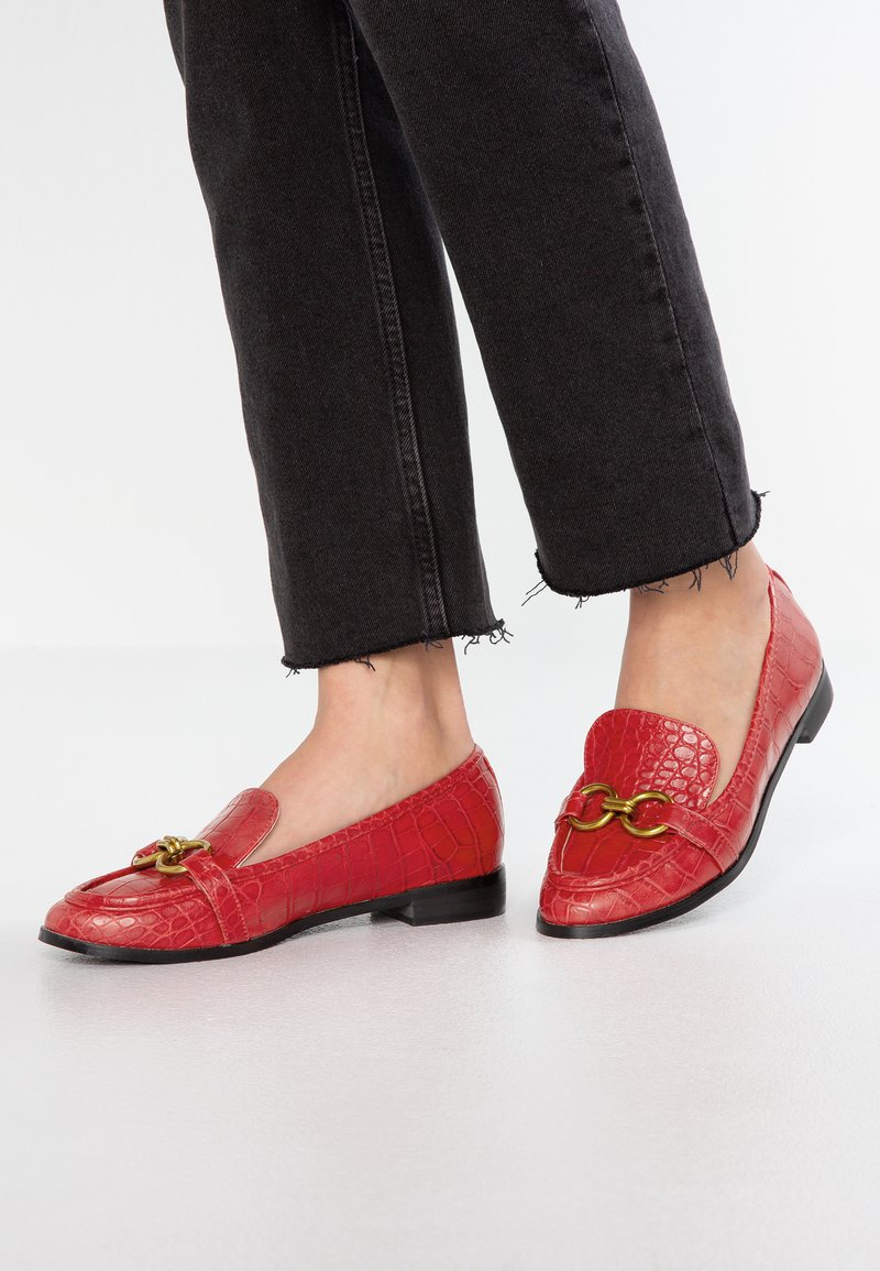 4th & Reckless - LEXIE - Slip-ons - red