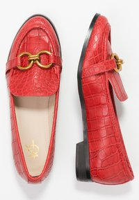 4th & Reckless - LEXIE - Slip-ons - red - 3