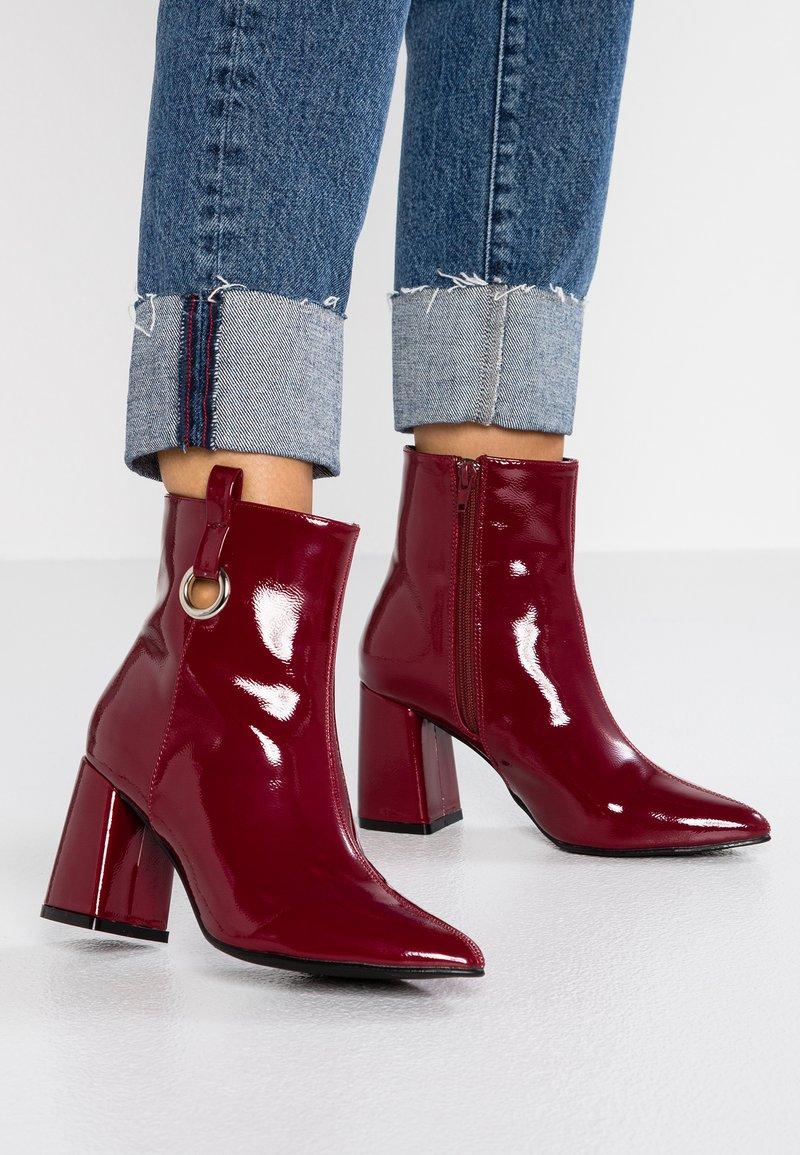 4th & Reckless - SURREY - Kotníkové boty - dark red