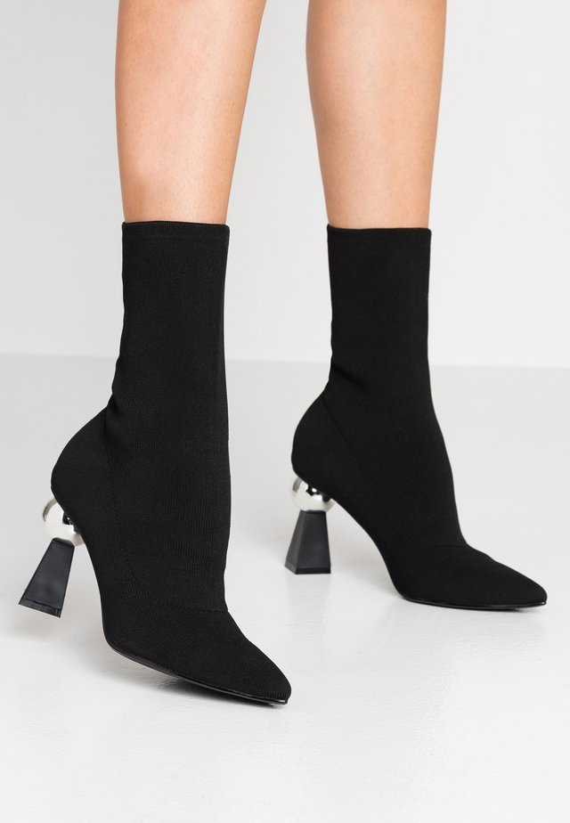 LEVI - High heeled ankle boots - black