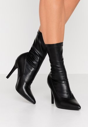 BIBI - High heeled ankle boots - black