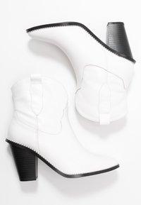 4th & Reckless - NIKITA - Ankelboots med høye hæler - white - 3