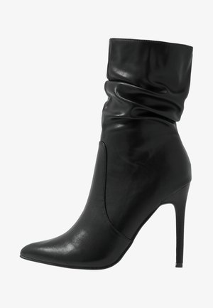 CAMEO - High heeled ankle boots - black