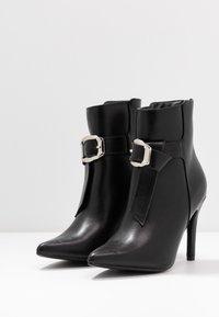 4th & Reckless - MILANA - Kotníková obuv na vysokém podpatku - black - 4