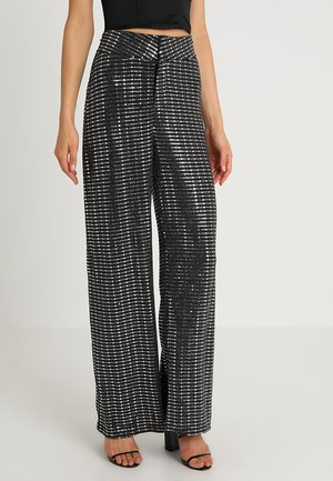 LEWIS TROUSER - Trousers - silver