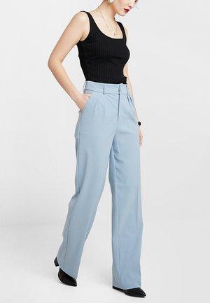 WEBB TROUSER - Trousers - blue
