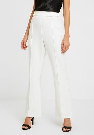 TROUSER - Kalhoty - white