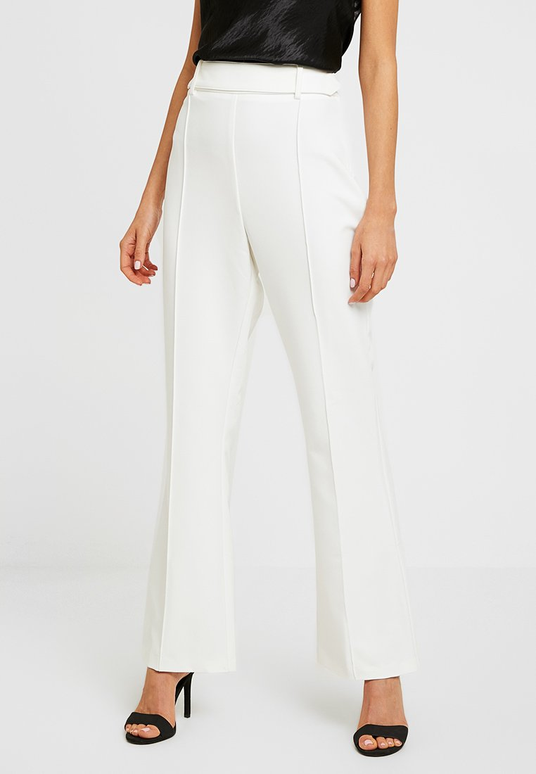 4th & Reckless - TROUSER - Stoffhose - white