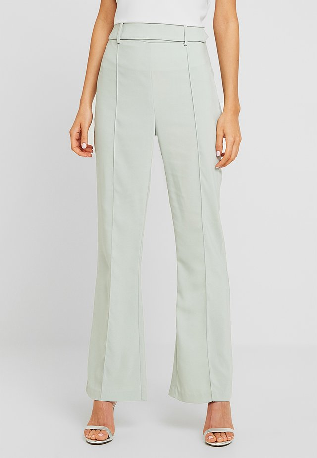TROUSER - Trousers - mint